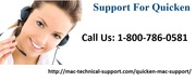 Quicken Technical Support For Mac- 800-786-0581