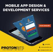 Mobile Application Development Services – PROTONBITS Softwares