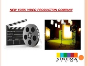 TV Commercial Production Companies New York
