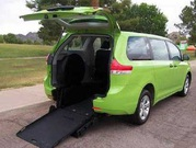 2014 Toyota Sienna Handicap Mobility Wheelchair