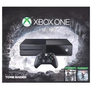 One 1TB Console : Rise of the Tomb Raider Bundle NIB
