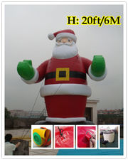 20'ft 6M Inflatable Advertising Promotion Giant Christmas Santa Claus
