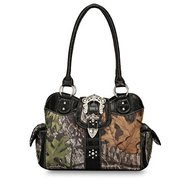 Designer Trendy Mossy Oak Licensed Carry Handbag