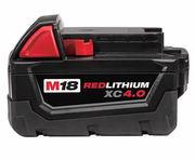 MILWAUKEE M18 M18B4 48-11-1828 48-11-1840 Lithium Ion 4Ah 18V Battery