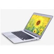 13.3inch Aluminium laptop notebook computer 4GB ram and 128GB SSD cele