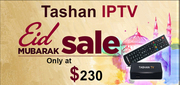 Buy Tashan IPTV with EID Sale