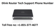Dlink Router Tech Support Phone Number +1-855-377-4677