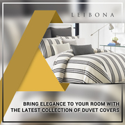 Find Great Collection of Modern Linen Duvet Covers @ Leibona