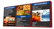 Digital Menu Boards and Software from Origin Displays