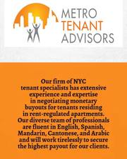 Monetary Lease Buyouts For Rent Regulated Apartments In New York City