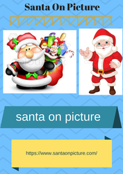 Create  Santa On Picture xmas coverbook