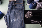 Jeans distressing – look rugged and stylish