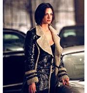 Asia Argento Fur Coat