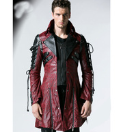 Goth Matrix Steampunk Gothic Coat