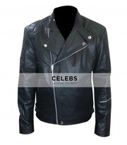 Metal Gear Solid 5 Snake Biker Leather Jacket