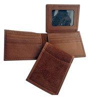 Men's Capybara Billfold Wallet with ID Window & Credit Card Storage