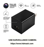 Stealth HD 1080P Camera USB Wall Charger