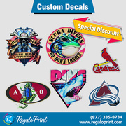 Brilliant Designs of Decals Printing Services | RegaloPrint