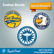 Get Complimentary Crafted Decals Printing Designs | RegaloPrint