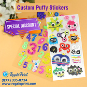 Puffy Stickers as The Best Product Advertisement Tool - RegaloPrint