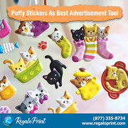 Puffy Stickers as Best Advertisement Tool   RegaloPrint