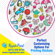Perfect Customizing Options for Printing Stickers