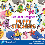 Get Ideal Designed Puffy Stickers - RegaloPrint