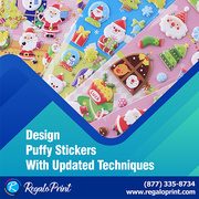 Design Puffy Stickers with Updated Techniques