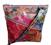Genuine Argentinian Floral Leather Bag - Cross-body Style For $125