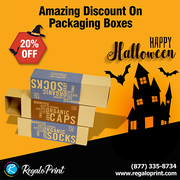Amazing 20% Discount On Packaging Boxes | RegaloPrint