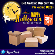 Get 20% Discount On Packaging Boxes | RegaloPrint