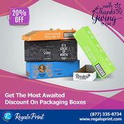 Get 20% Discount on Packaging Boxes - Happy Thanksgiving Day