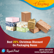 Best Christmas Discount On Packaging Boxes | RegaloPrint