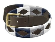 Argentinian Hand Stitched Pampa Designed Polo Belt For $75