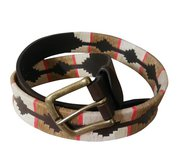 Argentinean Heavy Harness Leather - Polo Player Belt For $75