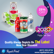 Quality Always Depicts On The Label - 25% New Year Discount