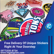 Free Delivery Of Unique Stickers Right At Your Doorstep - RegaloPrint