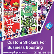 Custom Stickers for Business Boosting – RegaloPrint