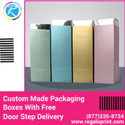 Custom Made Packaging Boxes With Free Door Step Delivery – RegaloPrint