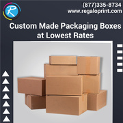 Custom Made Packaging Boxes at Lowest Rates – RegaloPrint