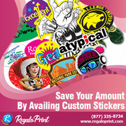 Save Your Amount By Availing Custom Stickers – RegaloPrint