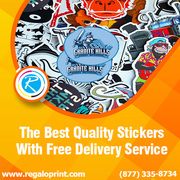 The Best Quality Stickers With Free Delivery Service – RegaloPrint