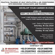 Heat Ventilation & Air Conditioning Training ( HVAC ) Live Online Clas