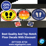Best Quality & Top-Notch Floor Decals With 20% Discount – RegaloPrint