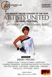 Melba Moore -Artists United Global Festival Broadcast Concert