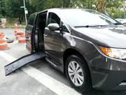 2016 Honda Odyssey EXL Braun Wheeelchair Handicap Mobility Van