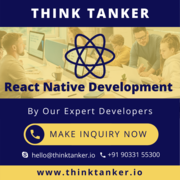Hire React Native Developer Bangalore,  Ahmedabad,  Pune,  Mumbai - Think