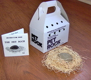 Christmas Gifts 2010 for Kids Men Women - Original Pet Rock Throwback